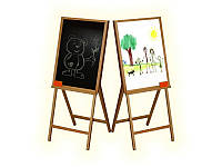 Детский мольберт для рисования 2-сторонний (60*70*105) ВП-007 Винни Пух