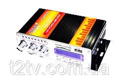 Усилитель звука VA 502 BT, 2-х канальный