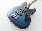 Бас-гитара FUJIGEN BMJ-G MIGHTY JAZZ BOUNDARY SERIES (Transparent Blue Sunburst), фото 3