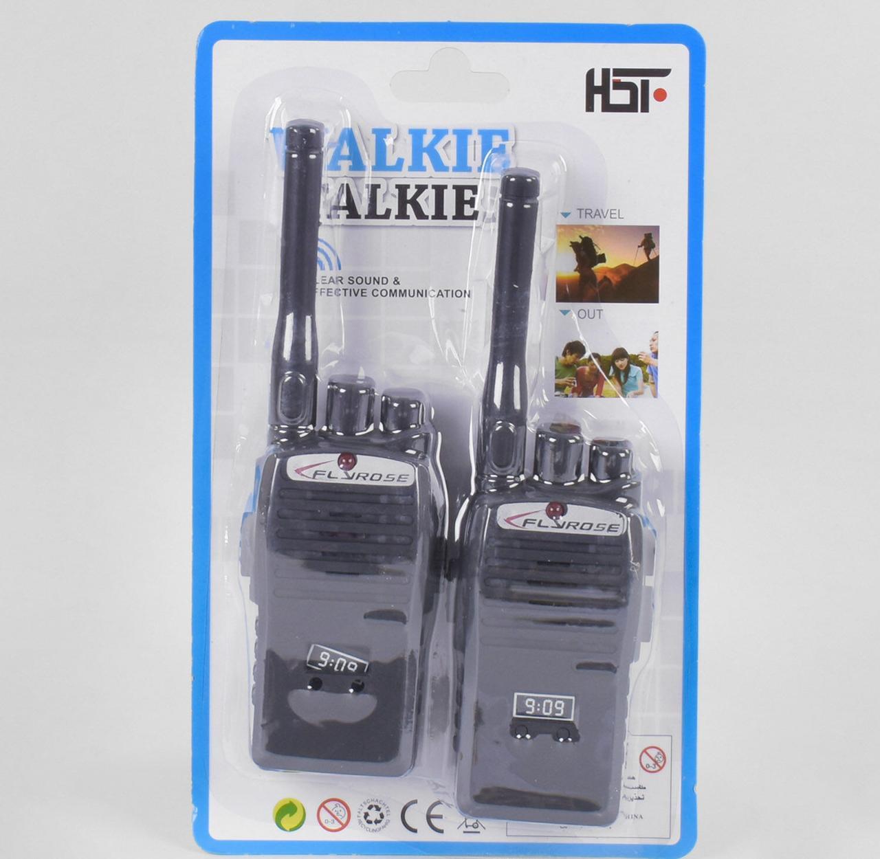 """Рация """"Walkie Talkie"""" на листе JQ 220-6 C 12"""