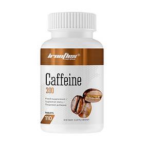 Кофеїн IronFlex Caffeine 200 mg (110 табл) айронфлекс
