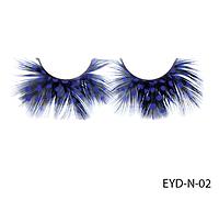 Декоративные подиумные ресницы натуральные Lady Victory LDV EYD-N-02 /0-1