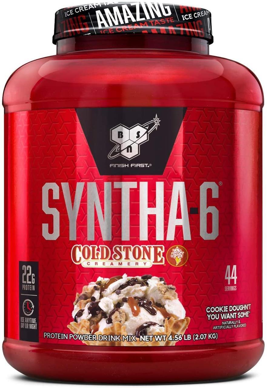 Комплексный протеин BSN Syntha-6 Cold Stone (2070 г) бсн синта 6 колд стон mint chocolate chip