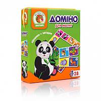 Домино Vladi Toys Зоопарк VT2100-04 укр Разноцветный, КОД: 1331773