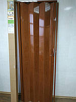 Дверь гармошка раздвижная пластиковая Черешня №7 810х2030х6 мм, фото 1