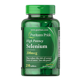Селен Puritan's Pride Selenium (250 таб) пуританс прайд селениум