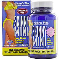 Комплекс для Похудения, Skinny Mini, Natures Plus, 90 гелевых капсул