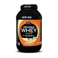 Сывороточный протеин концентрат QNT Delicious Whey Protein (2,2 кг) делишс вей banana