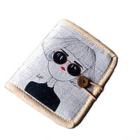 Женский текстильный кошелек Капи