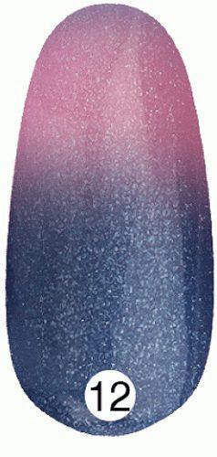 Kodi  Термо Гель лак №T12 12 мл (темно-синий с шиммером, при нагревании - лилово-розовый)