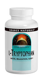 L-Триптофан 500мг, Source Naturals, 60 капсул