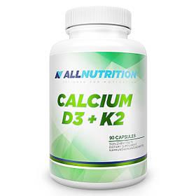 Кальций Д3 К2 AllNutrition Adapto Calcium D3+K2 - 90 капс