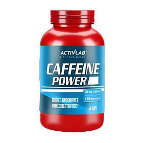 Кофеїн Activlab Caffeine Power (60 капс) активлаб