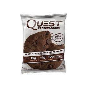 Протеїнове печиво Quest Nutrition Quest Protein Cookie (59 г) double chocolate chip