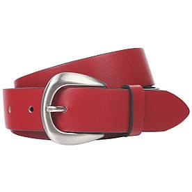 Ремень женский Lindenmann The art of belt 40132 Красный (1188)