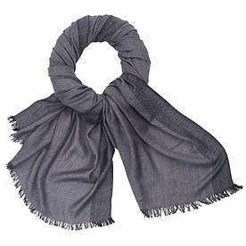 Мужской шарф Lindenmann 115-03 Серый (1201)