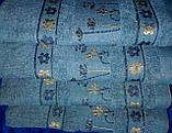 Рушник махровий банний 100% бавовна, фото 2
