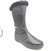 Ботинки женские зимние  Ма 06070 кожа