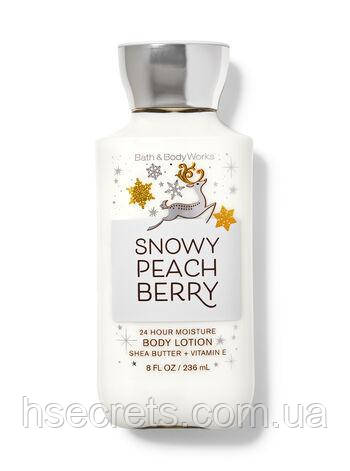 Лосьон для тела Bath & Body Works Snowy peach berry