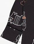 Хлопковый слип с ножками Gеоrgе  9-12м 74-80см, фото 3