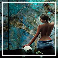 Панно из природного камня, кварца с подсветкой., фото 1