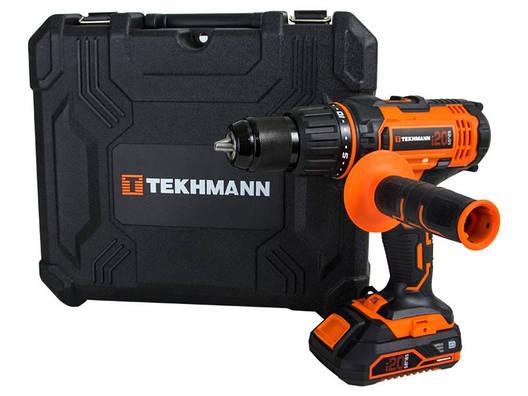 Шуруповерт аккумуляторный tekhmann tcd-60/i20 kit, фото 2