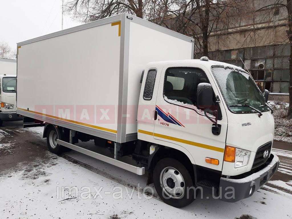 Автомобиль Hyundai HD78 изотермический фургон