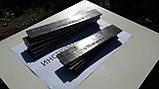 Заготовка для ножа сталь 95Х18 300-320х35-36х3.8-3,9 мм сырая, фото 4