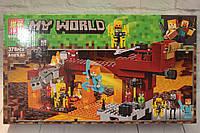Конструктор LARI Minecraft Мост Ифрита, 378 деталей, в коробке, фото 1