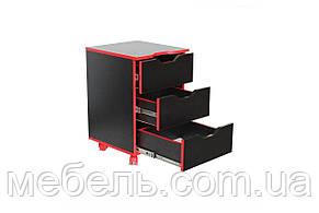 Тумба мобильная Barsky Homework Game Red THG-02, фото 2