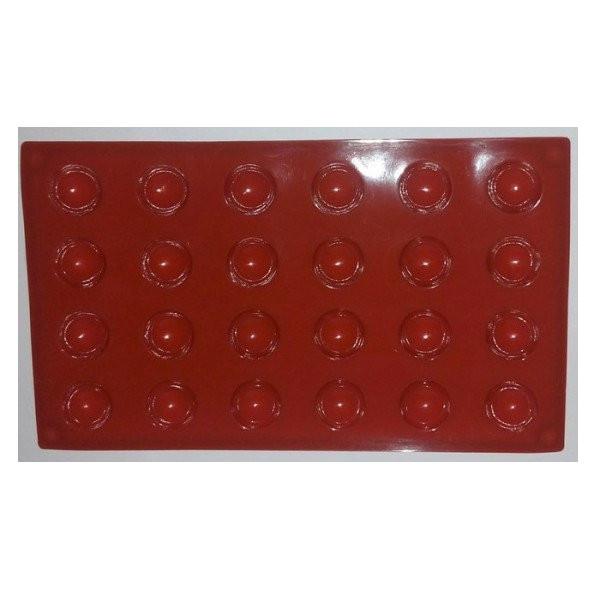 Форма силиконовая для выпечки Полусфера Empire M-1219