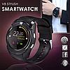 Сенсорные Smart Watch V8 смарт часы умные часы Черный, фото 8
