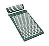 Масажний ортопедичний килимок з подушкою Acupressure Mat Ортопедический массажный коврик 65 см*41 см, фото 3