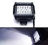 Фара LED (6 LED) 5D-18W-SPOT Светодиодная дополнительная автомобильная автофара на крышу противотуманка, фото 4