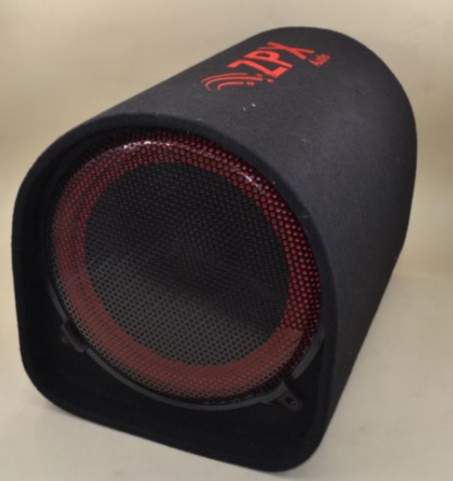 Автомобильный сабвуфер ZX-12 (12 дюймов) 1200W 48*35см с усилителем и Bluetooth