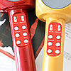 Беспроводной портативный микрофон WSTER WS-1816 для караоке с подсветкой Bluetooth, фото 6