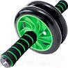 Гимнастическое спортивное фитнес колесо Double wheel Abs health abdomen round | Тренажер-ролик для мышц, фото 6