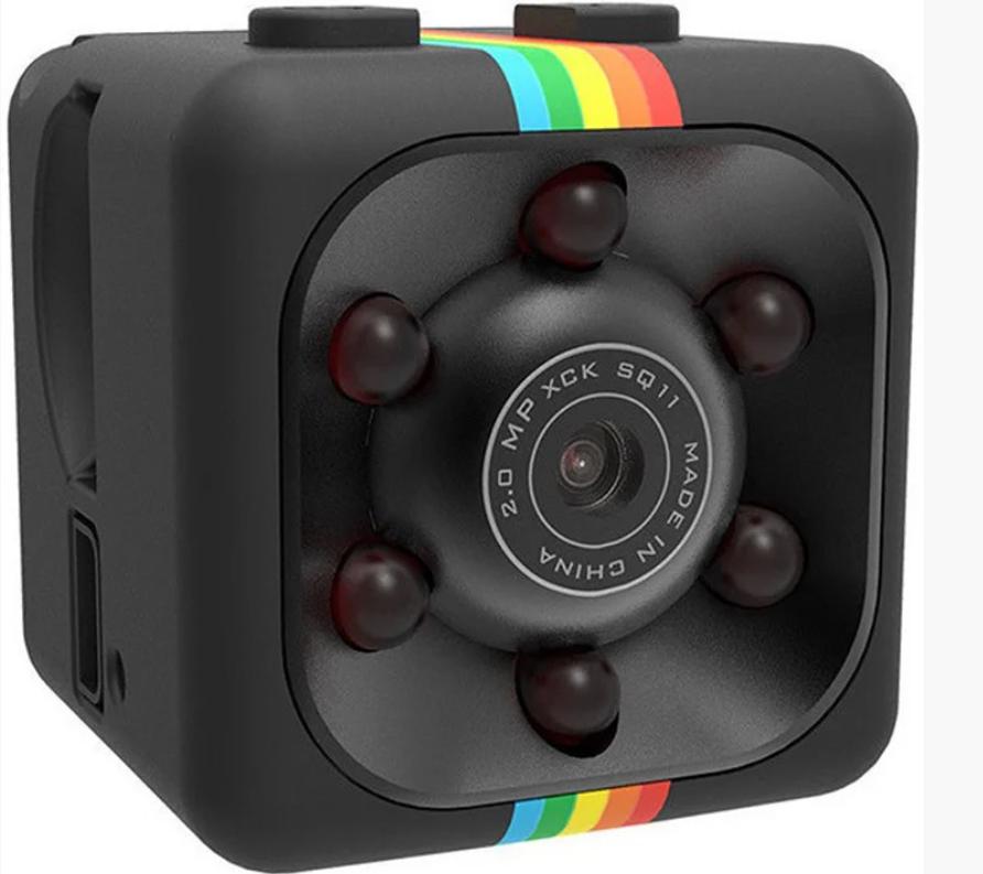 Экшн-камера ночного видения SQ11 HD 1080 Водонепроницаемая