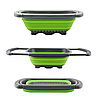 Складной дуршлаг Leach basket (W80) / Корзина в раковину для мытья фруктов и овощей, фото 2