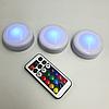 LED подсветка Светодиодные фонари Лампы для дома 3 шт Magic Lights с пультом, фото 4