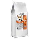 Home DOG Food ADULT MEDIUM «Індичка і лосось» корм для середніх собак здорова шкіра і блиск шерсті 3кг, фото 3