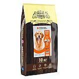 Home DOG Food ADULT MAXI «Індичка і лосось» корм для великих собак здорова шкіра і блиск шерсті 3кг, фото 2