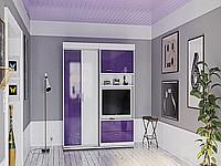 Встроенная в шкаф кровать трансформер для небольшой комнаты