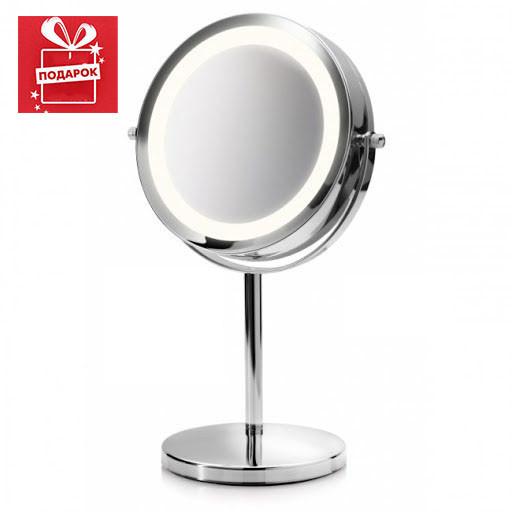 """Зеркало настольное косметическое  для макияжа с увеличением и  подсветкой  """" LED-SPIEGEL Germany"""""""