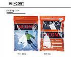 Мужские термо кальсоны подштанники двухслойные IN.INCONT 3832 ростовка L-3XL черные 20039455, фото 5