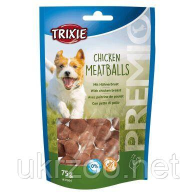 Лакомство для собак Trixie PREMIO Chicken Meatballs 75 г (курица) 31864