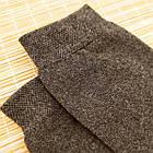 Носки мужские махровые высокие однотонные Рубеж-текс 31р антрацит 20038625, фото 3