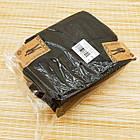 Носки мужские махровые высокие однотонные Рубеж-текс 31р черные 20038601, фото 7