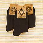 Носки мужские махровые высокие Рубеж-текс 23-25р черные 20038120, фото 2