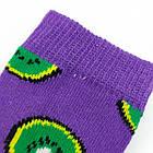 Носки детские с приколами средние Neseli Coraplar Kids 7303-3 Kiwi 31-34р 20036744, фото 3